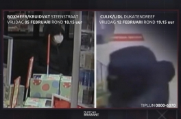 Boxmeer/Cuijk - Gezocht - Winkelovervallen in Cuijk en Boxmeer