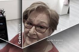 Gedenkhoek voor moeder Gerda Kregting (81): 'Ik kan me geen betere moeder voorstellen'