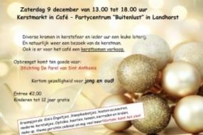 Kom gezellig naar de Kerstmarkt!