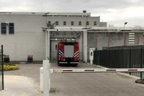 Brand in gevangenis Grave, man zet matras in de fik