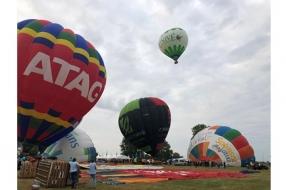 Tiende en laatste Ballonfestival Grave gaat eindelijk de lucht in