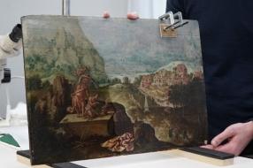Tijdens de zoektocht naar landschappen van Lucas Gassel vindt Helmond 'de kers op de taart'