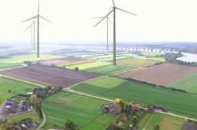 Windmolenplan langs de Maas bij Nederasselt stilgelegd