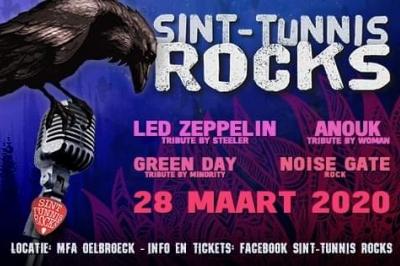 Evenement: Sint Tunnis Rocks 2020