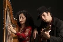 Zuid Amerikaans harpconcert in Bagijnenkerk Grave