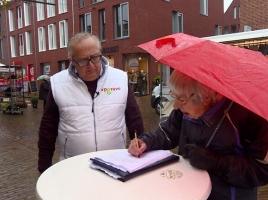 Handtekeningenactie levert niks op: Geen referendum over zelfstandig Grave