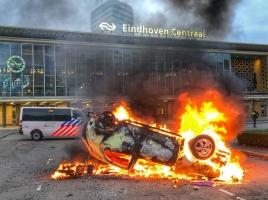 Hoogste schadevergoeding na avondklokrellen in Eindhoven: 80.000 euro