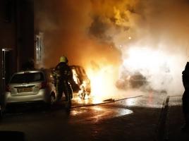 Verdachte van autobranden in Grave komt voorlopig niet vrij, advocate teleurgesteld